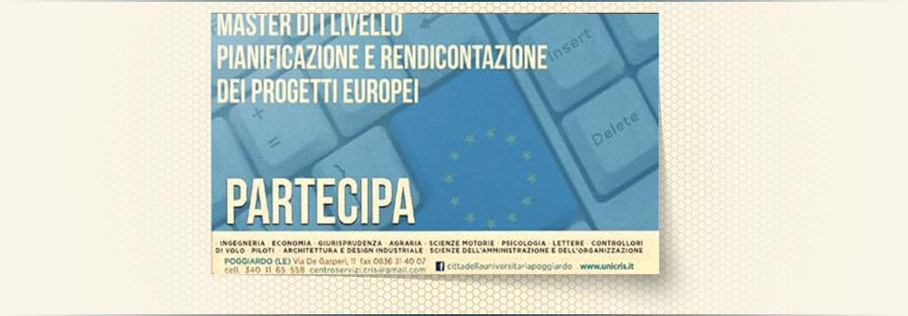 pianificazione progetti europei